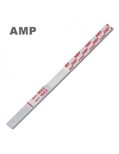 Amphetamines urine test strip
